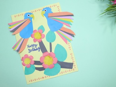 The Birthday Card | Beautiful Greeting Card for Birthday | Lovely Birthday Card | DoItYourselfCrafts