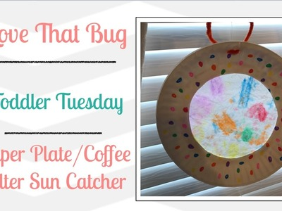 TT | Paper Plate Coffee Filter Sun Catcher