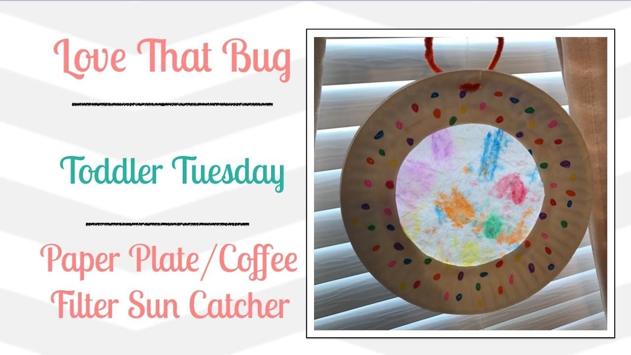TT | Paper Plate Coffee Filter Sun Catcher