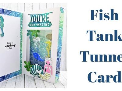 Tunnel Fold Card | Under The Sea