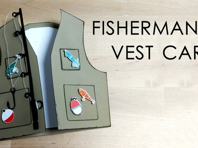 [Tutorial + Template] Fishing Vest Card