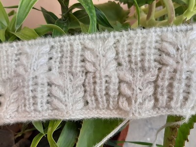 White kori Design for ladies and baby sweater