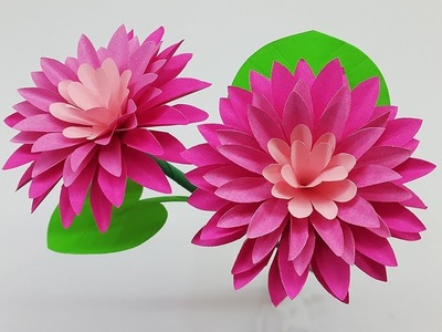 Beautiful DIY Paper Flowers | How to Make Flower with Paper