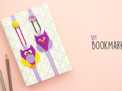 DIY Bookmark |  How to make a Bookmark
