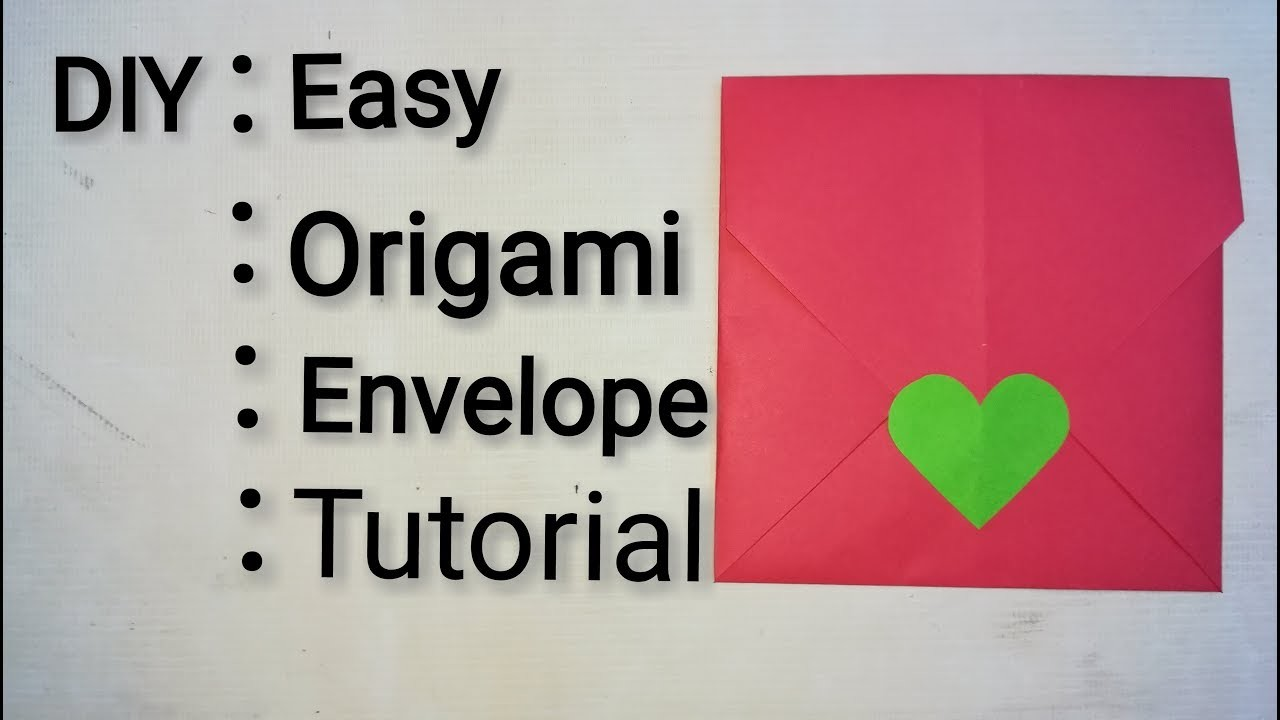 Idea by Mayesha Ahmed on .Random. | Origami envelope, Papercraft ... | 720x1280