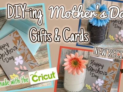 DIY-ing MOTHERS DAY GIFTS & CARDS | GIFTS on a BUDGET