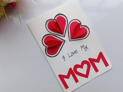 DIY Mother's Day card. Mother's Day card making