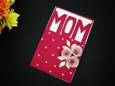 DIY Mothers Day Cards | How To Make Mothers Day Card | Handmade Greeting Card For Mother