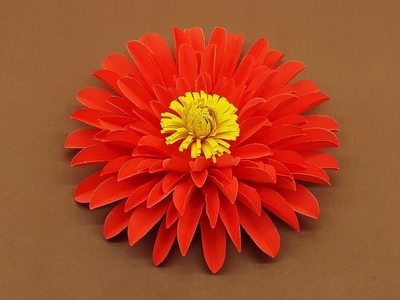 DIY Paper Flowers | How to Make Paper Aster Flower