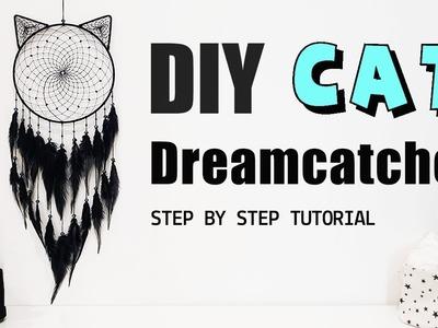 DIY Tutorial - How To Make A Cat Dreamcatcher?