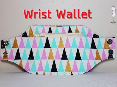 #DIY Wrist Wallet | Sewing tutorial