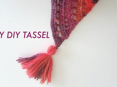 Easy DIY Tassel Tutorial