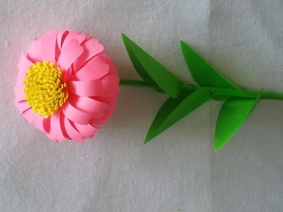 How to Make Flowers Using Paper | DIY Paper Flower Making Tutorials | Paper Crafts