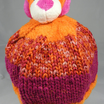 Knitted Child's Lion Winter Hat - FREE SHIPPING