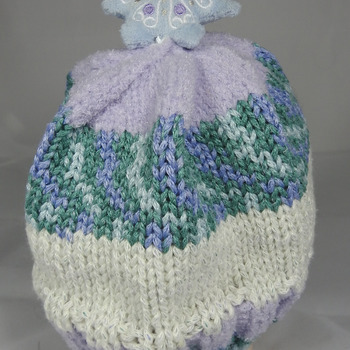 Knitted Children's Christmas Star Winter Hat - FREE SHIPPING