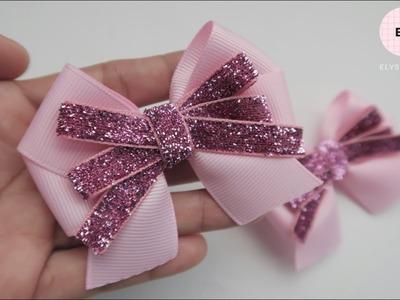Laço De Fita ???? Ribbon Bow Tutorial #48 ???? DIY by Elysia Handmade