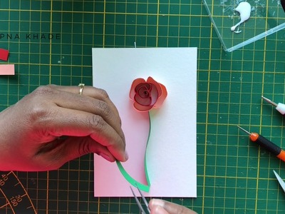 Mira's Craft | Quilling Spring Flower making