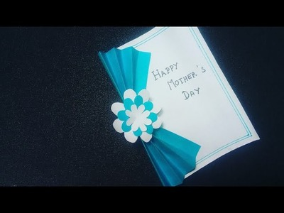 Mother's Day Special Card making tutorial    Diy Happy Mother's Day Card making easily at home