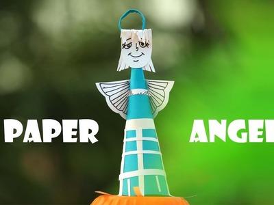 PAPER ANGEL ||  DIY CRAFT || EASY KIDS CRAFT ||