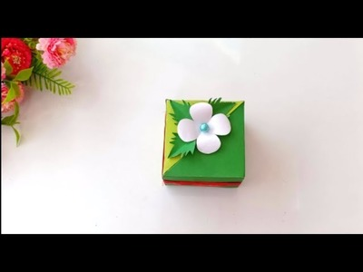 Unique DIY gift box with lid. ANY SIZE you want. EASY tutorial Easter gift box.