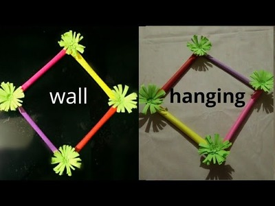 WOW  !!!  DIY  PAPER WALL HANGING !!! SUPER EASY  PAPER CRAFT !!!