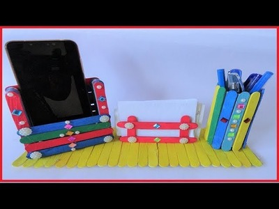 3 New Easy N Creative Popsicle craft Ideas | Ice Cream Stick Craft | Ice Cream Stick Easy DIY