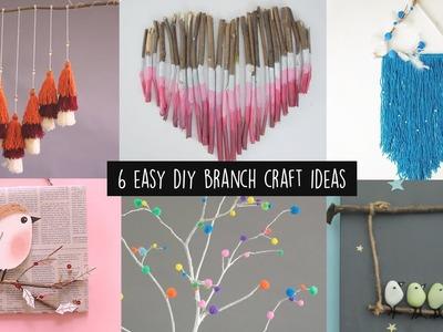 6 Easy DIY Branch Craft Ideas | Home Decor Ideas