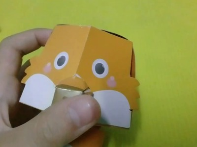 Animal paper craft;FOX