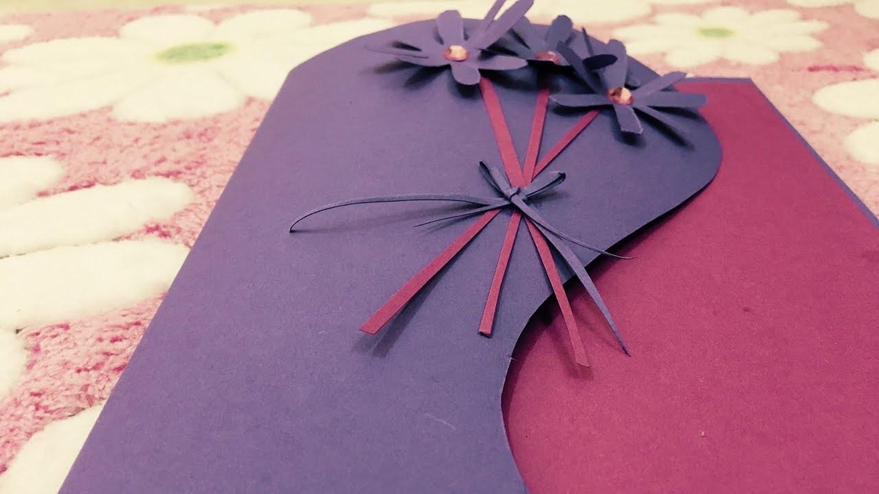 Beautiful DIY Card  Making  idea || DIY Card Tutorial || Greeting Card || Saras Passion Hub