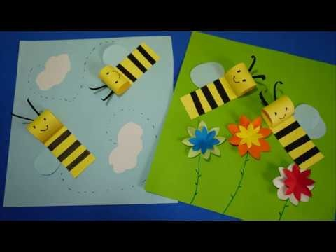 Bee Paper Craft for Kids