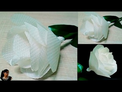 Best Use Of Tissue Paper. DIY about paper craft or flowers @Jyoti Gupta