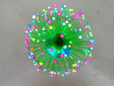 Bottle craft idea, flower wase, for table, tv, refrigerator, home decoration.