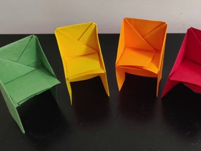 Chair Origami Craft - For Kids