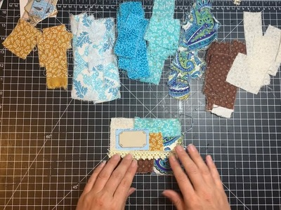 Craft with me - making fabric pockets