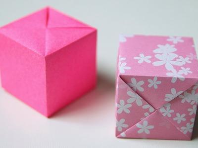 "DIY 36 | ???? Origami Cube ???? - ""Magic"" Cube (Shuzo Fujimoto)"