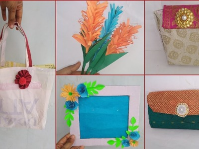 DIY 5 easy nd useful craft for home!! Home organisation idea (22funmedia)