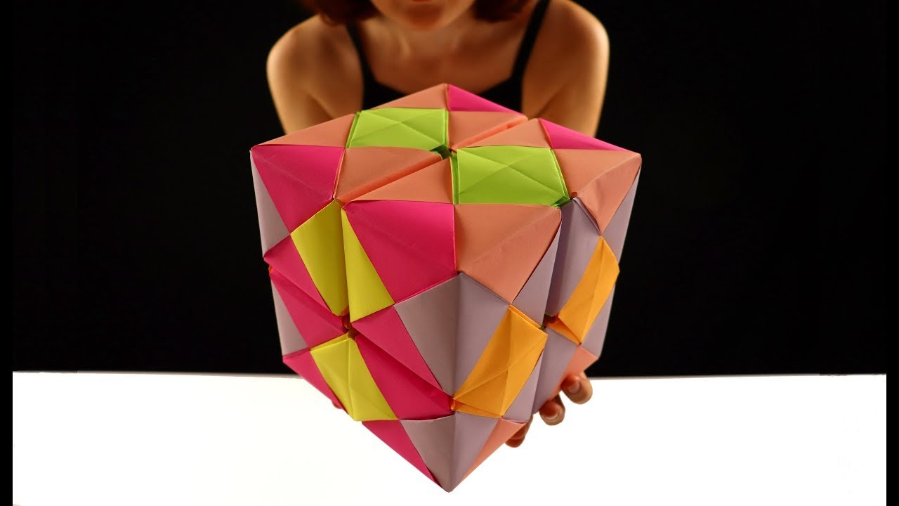 DIY BIG Infinite Cube without Glue THE BEST TOY EVER