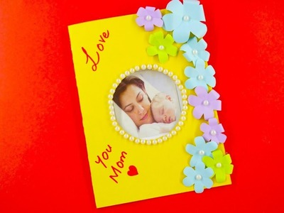 DIY Card ideas  for Mother - Paper craft-Handmade Craft