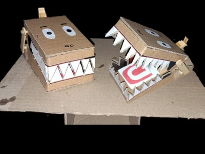 DIY Craft Simple Rat Trap From Cardboard