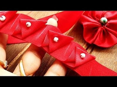 DIY Creative Art, Ribbon Craft Ideas