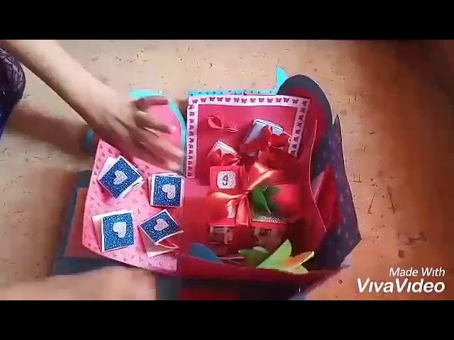 DIY explosion box tutorial