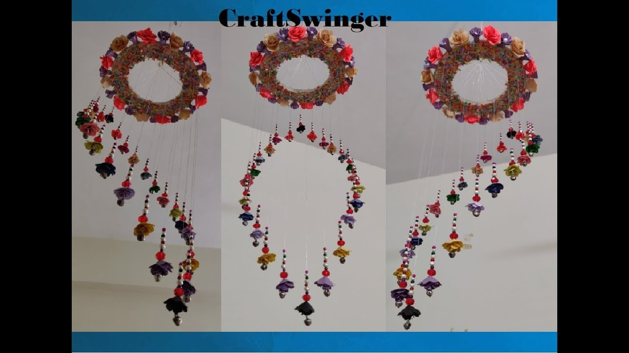 DIY Hanging Decoration    Paper Craft    How to make a Hanging Decoration