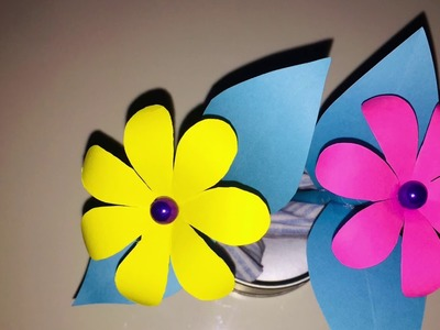 DIY: How to make Easy Paper Flower ????