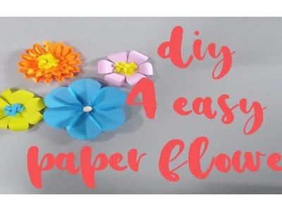 DIY IDEAS - FLOWER PAPER TUTORIAL ????| Amore PH