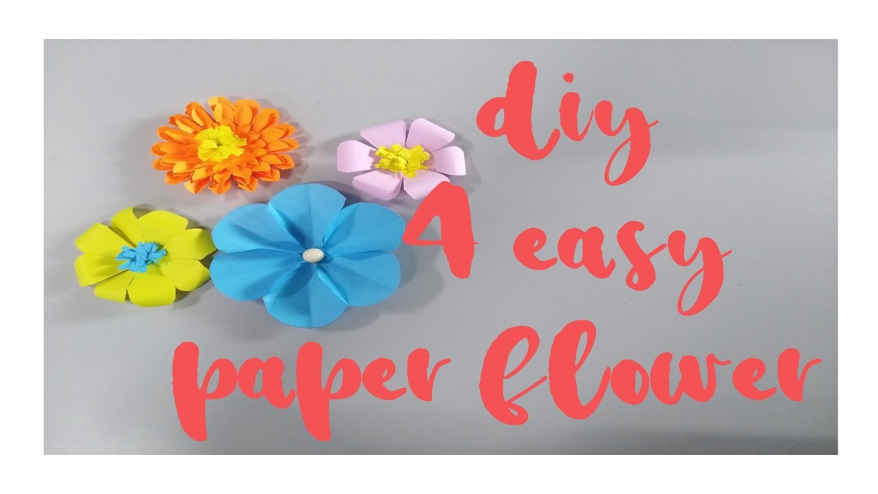 DIY IDEAS - FLOWER PAPER TUTORIAL ????| Amore PH