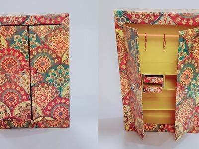 DIY Miniature Almira. handmade ALMIRA from Cardboard