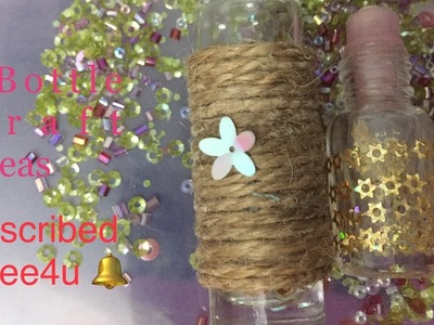 DIY|Miniatures Bottle Craft Ideas