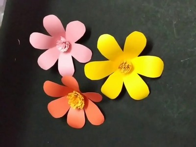 DIY Paper Flowers. ABC - Any Body can Craft????