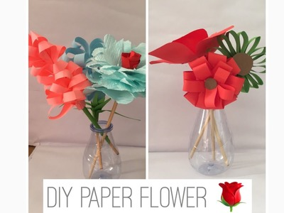 DIY PAPER FLOWERS | PAPER ART | DECORATION IDEAS | FLOWER DECORATION