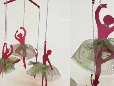DIY Room Decor - Ballerina Wall Decor - Wall Hanging Craft Ideas - DIY Crafts